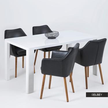 Krzesło Marcelio czarne