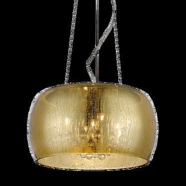 Lampa wisząca Alexis 40 cm złota
