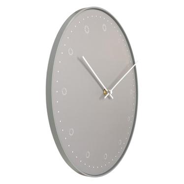 Zegar ścienny Bignay szary średnica 30 cm