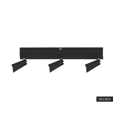 Lampa sufitowa Vanessa czarna x3