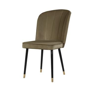 Krzesło Guavra ciemnobeżowe