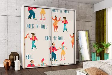 Szafa Wenecja 205 cm Rock'n'roll