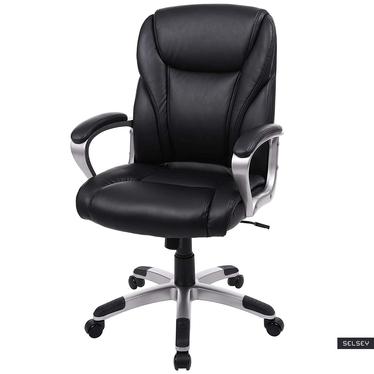 Fotel biurowy Sair czarny