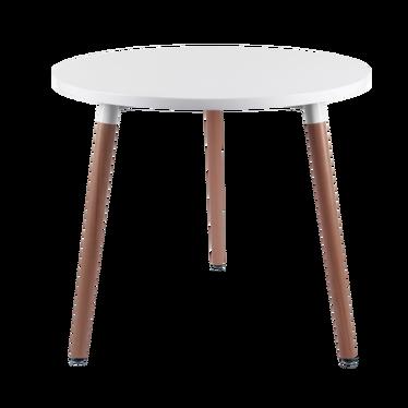 Stół Copine średnica 80 cm biały