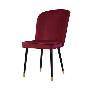 Krzesło Guavra bordowe