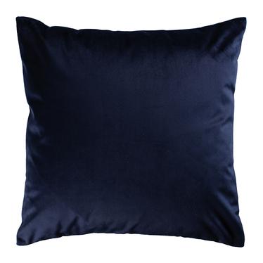 Poduszka dekoracyjna Sylvanca w tkaninie EASY CLEAN 45x45 cm granatowa bez kedry