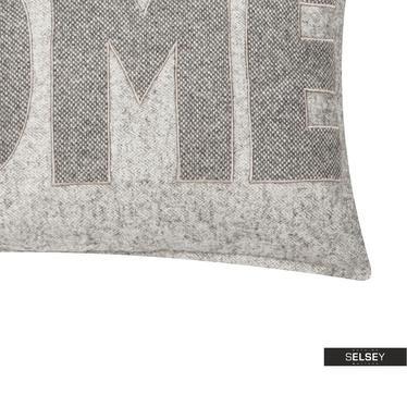 Poduszka z poszewką Home szara 30x50 cm
