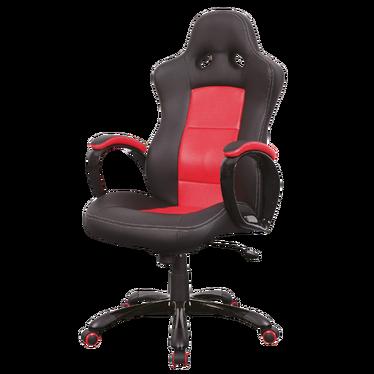 Fotel gamingowy Sansa czerwono - czarny