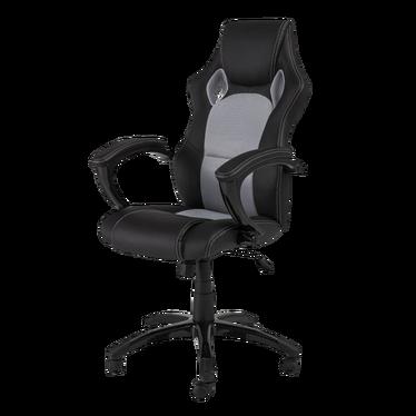 Fotel gamingowy Linto szaro - czarny