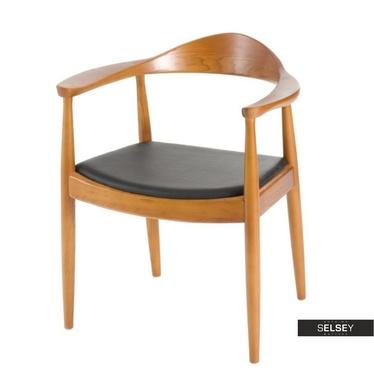 Krzesło President jasnobrązowe