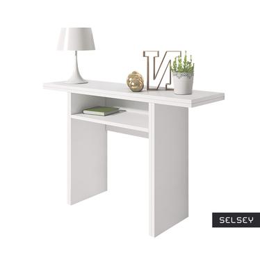 Włoska toaletka - konsola - stół Italia biały