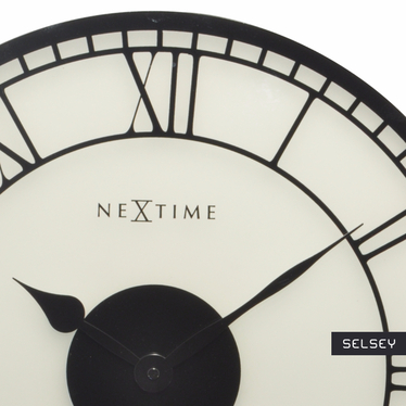 Zegar szklany Big Ben średnica 43 cm