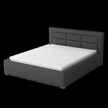 łóżko Tapicerowane Carter Z Pojemnikiem Na Pościel