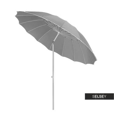 Parasol ogrodowy z regulacją 240 cm szary