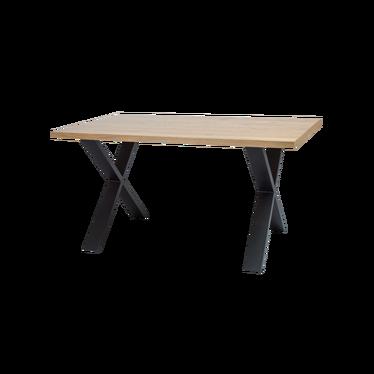 Stół Holeby 150x90 cm z litego drewna dębowego