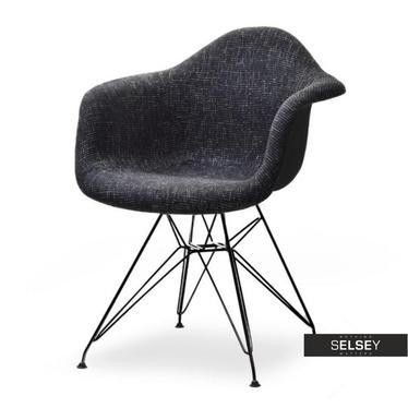 Krzesło MPA rod tap glamour-czarny do nowoczesnych aranżacji