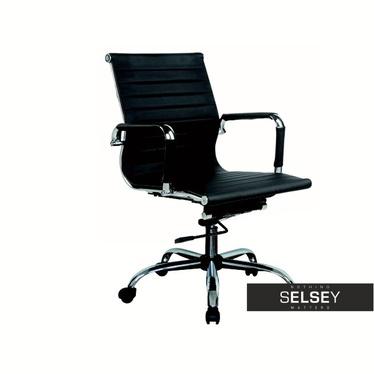 Fotel biurowy Grello czarny