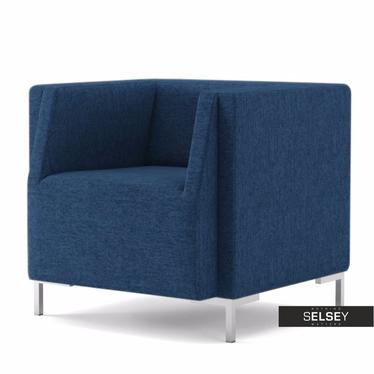 Fotel Fleck 17 niebieski ciemny