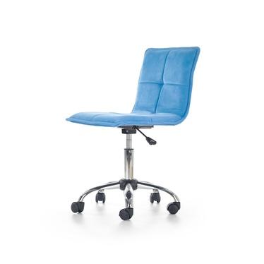 Fotel biurowy Lamas niebieski