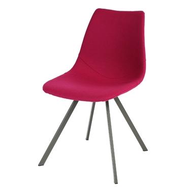 Krzesło tapicerowane Lerife na metalowych nóżkach