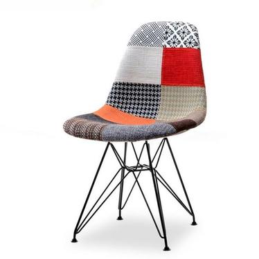 Krzesło MPC rod tap patchwork 1 - czarny