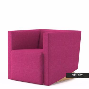 Fotel Plain 11 różowy