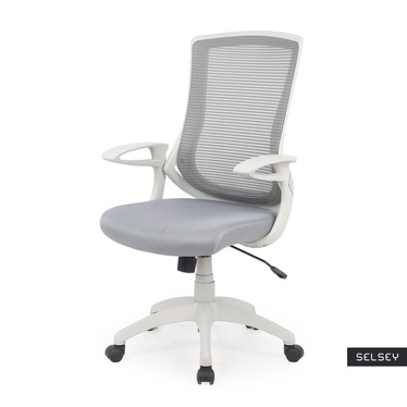 Fotel biurowy Comino jasnoszary