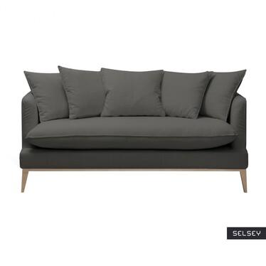 Sofa trzyosobowa Chason w tkaninie wodoodpornej