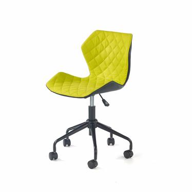 Fotel biurowy Kall czarno-zielony