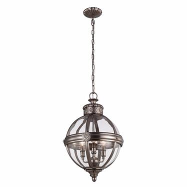Lampa Adams II steel
