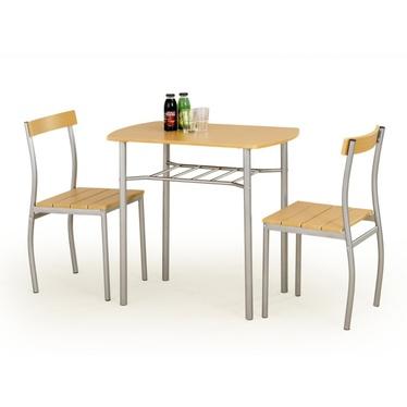 Stół z krzesłami Parra olcha