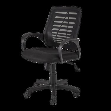 Fotel biurowy Erika czarny
