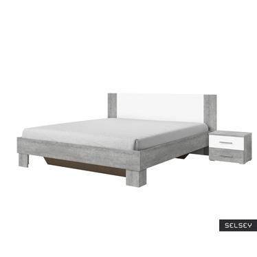 Łóżko Vers z szafkami nocnymi