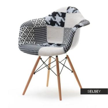 Krzesło MPA wood tap patchwork 2