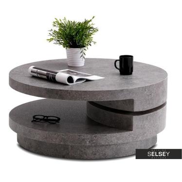 Ława Oreo beton 80(120)x80 cm obrotowa