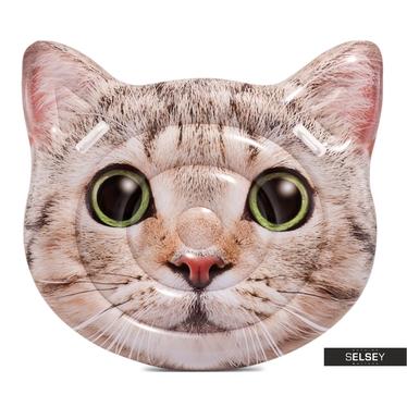 Dmuchany materac Kot o średnicy 135 cm