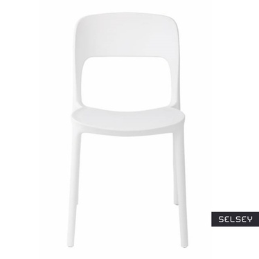 Krzesło Flexi białe