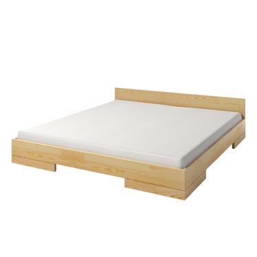Łóżko z drewna sosnowego Halsa niskie