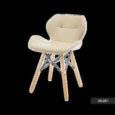 Krzesło Tejn kremowe