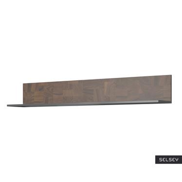 Półka Bosfor 150 cm szara