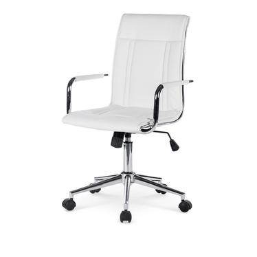 Fotel biurowy Utiel biały