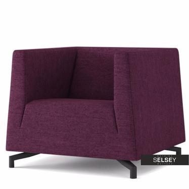Fotel Soft 17 fioletowy