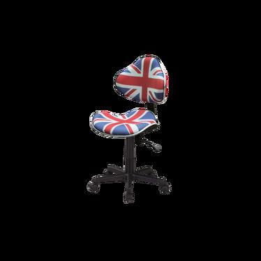 Fotel biurowy Morild Union Jack
