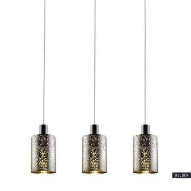 Lampa wisząca Daniels średnica 12 cm srebrna x3