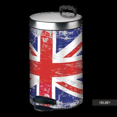 Kosz na śmieci New Line 14l flaga brytyjska
