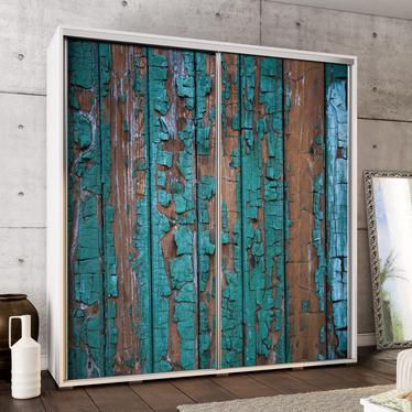 Szafa Wenecja 205 cm Postarzene drewno