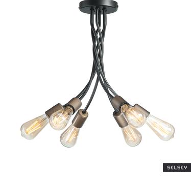 Lampa wisząca Herki x6