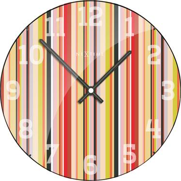 Zegar szklany Smilthy Dome średnica 35cm