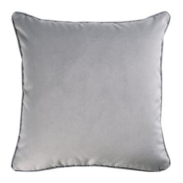 Poduszka dekoracyjna Myrrhis w tkaninie PET FRIENDLY 45x45 cm szara