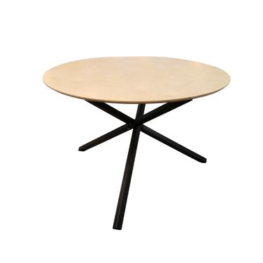 Stół Marselle średnica 100 lub 115 cm na czarnej podstawie